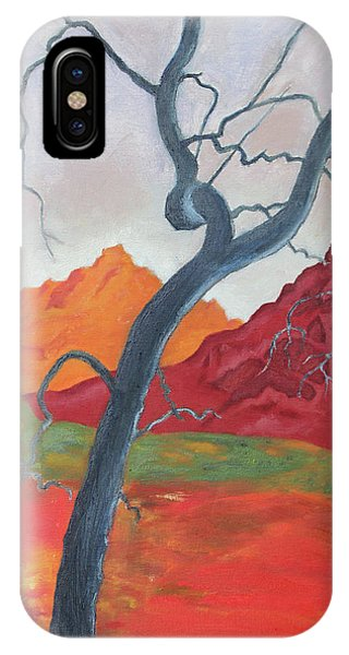 Blue Retama IPhone Case