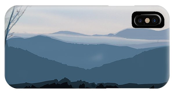 Blue Ridge Above The Clouds IPhone Case