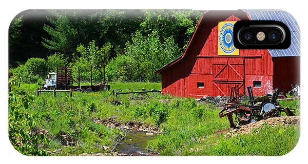Blue Ridge Barn IPhone Case