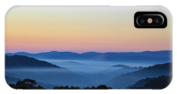 Blue Ridge Dawn IPhone Case