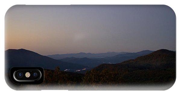 Blue Ridge Dawn IPhone Case