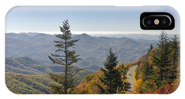 Blue Ridge Drive Phone Case by Darrell Young