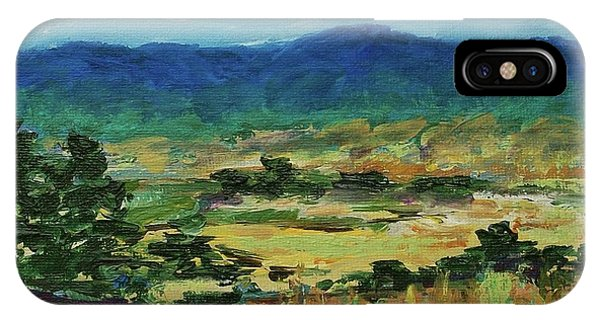 Blue Ridge IPhone Case