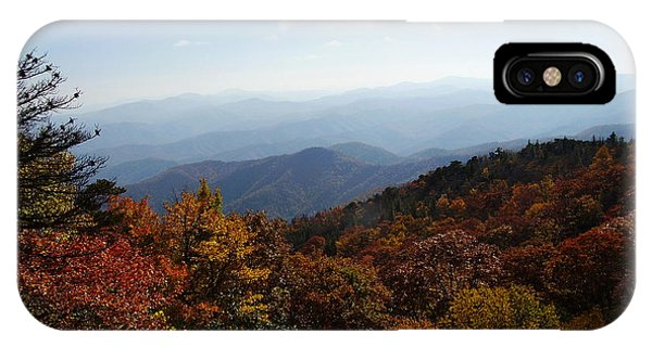 Blue Ridge Mountains IPhone Case