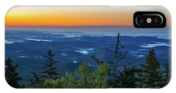 Blue Ridge Mountains Sunrise IPhone Case