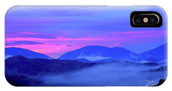 Blue Ridge Mountains Sunset IPhone Case