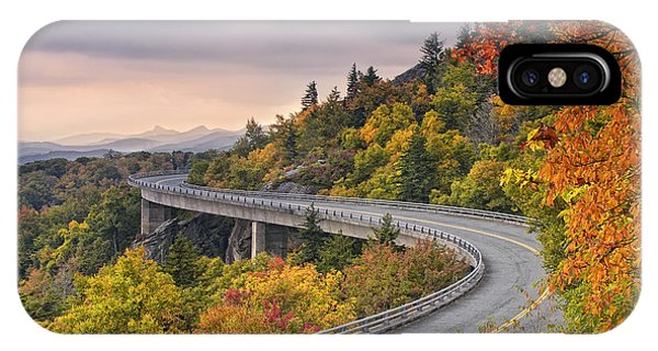 Lynn Cove Viaduct-blue Ridge Parkway  IPhone Case