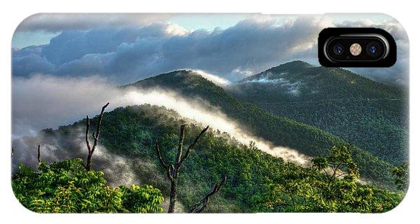 Blue Ridge Parkway Mountain Jumpers Art IPhone Case