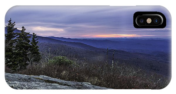Blue Ridge Parkway Sunrise IPhone Case