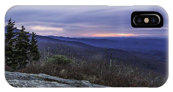 Blue Ridge Parkway Sunrise IPhone Case