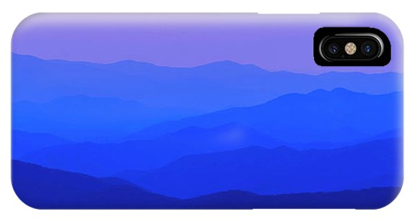 Blue Ridge Spring 08 IPhone Case