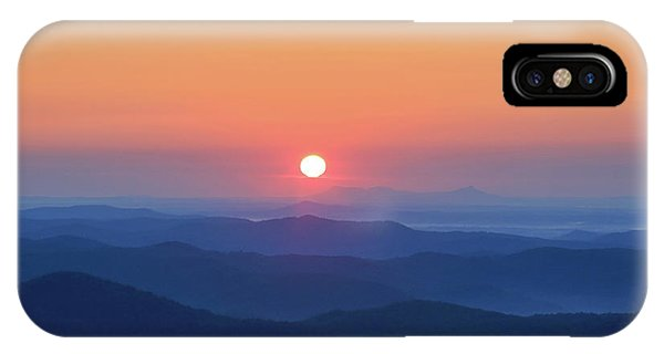 Blue Ridge Sunrise IPhone Case