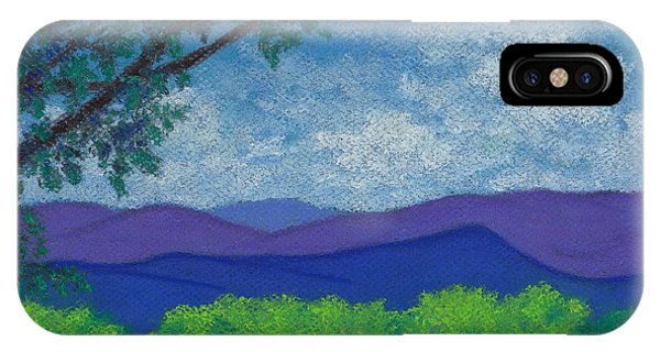 Blue Ridges 4 IPhone Case