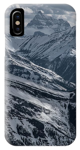 Rocky Mountain Np iPhone Case - Blue Rockies by Martin Capek