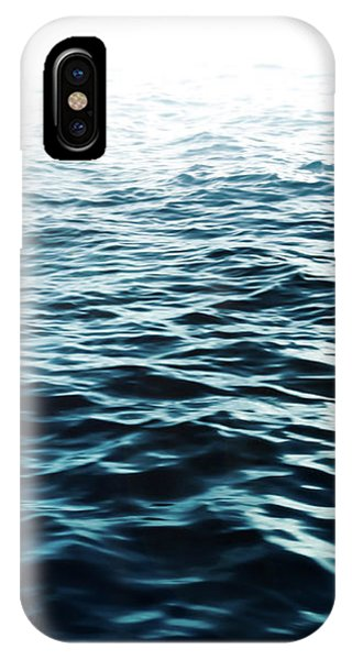 Soft iPhone Case - Blue Sea by Nicklas Gustafsson