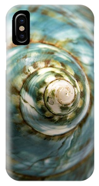 Blue Seashell IPhone Case
