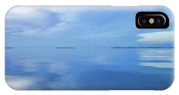 Blue Serenity IPhone Case