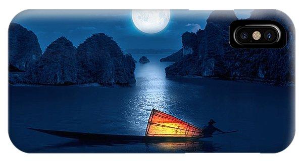 Reef iPhone Case - Blue Serenity by Art Spectrum