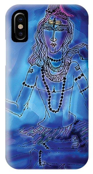 Blue Shiva  IPhone Case