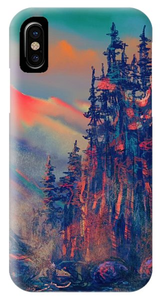 Blue Silence IPhone Case
