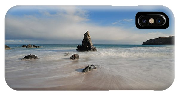 Blue Skies Above Sango Bay IPhone Case