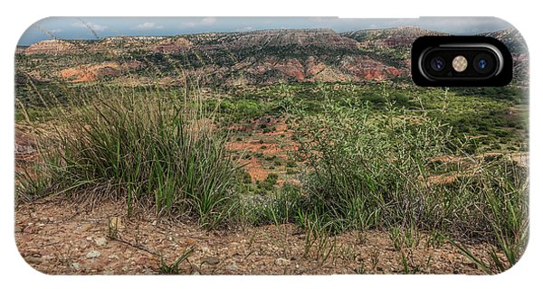 Blue Skies Over Palo Duro Canyon IPhone Case