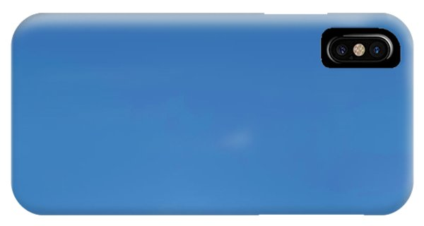 The Sky iPhone Case - Blue Sky by Scott Norris