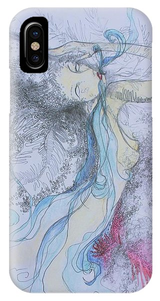 Blue Smoke And Mirrors IPhone Case