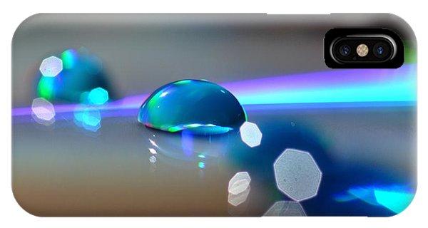 Blue Sparks IPhone Case