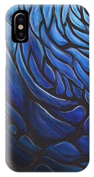 Blue Stained Glass IPhone Case