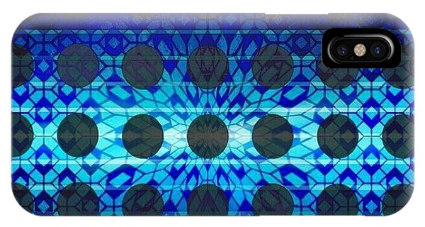 iPhone Case - Blue Star by Lisa Marie Towne