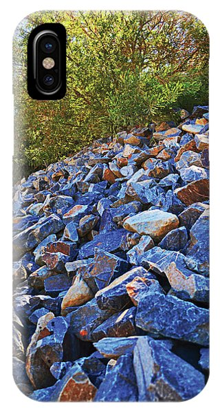 Blue Stone Hill  IPhone Case