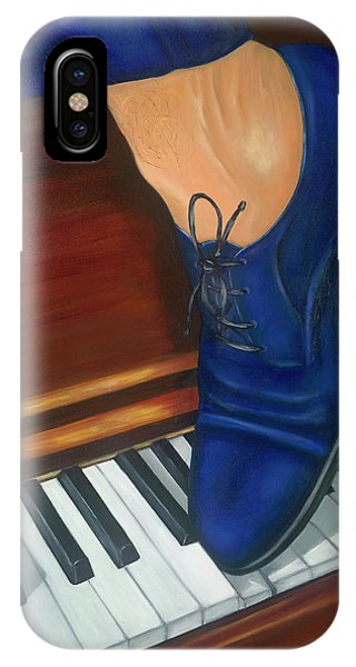 Blue Suede Shoes IPhone Case