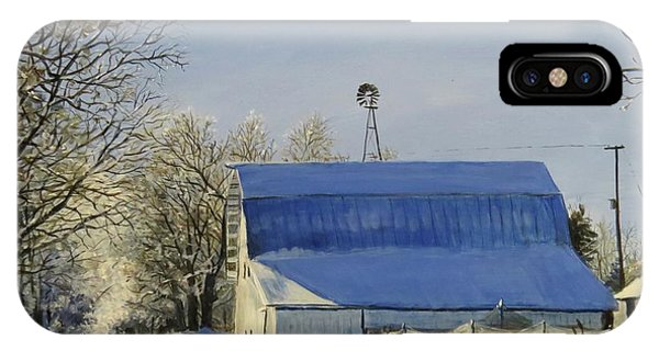 IPhone Case featuring the painting Blue Sunday by William Brody