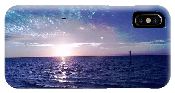 Blue Sunset IPhone Case