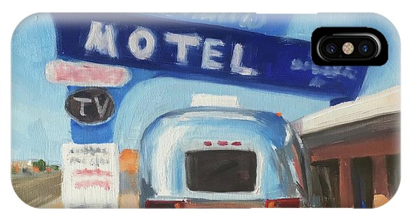 Blue Swallow Motel IPhone Case
