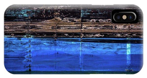 Blue Tanker IPhone Case