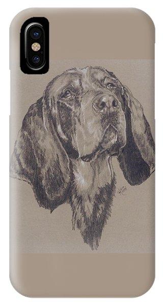 Bluetick Coonhound IPhone Case