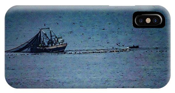Blue Trawler 1 IPhone Case
