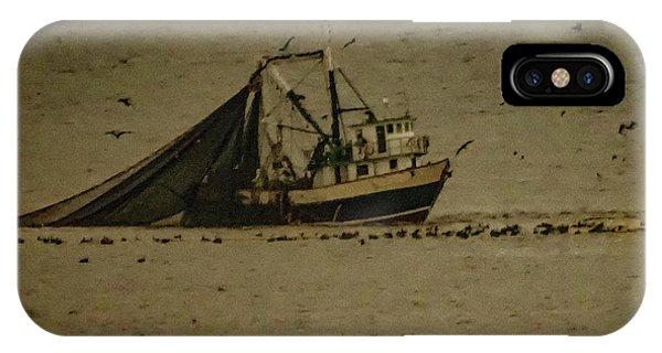 Blue Trawler 2 IPhone Case