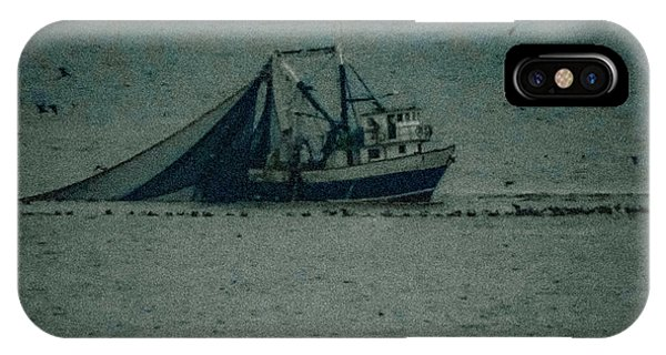 Blue Trawler 3 IPhone Case