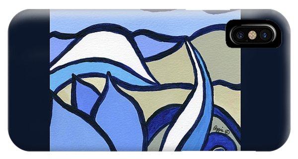 Blue Tulip IPhone Case