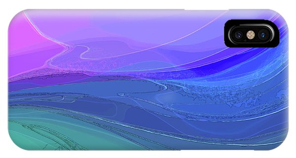 Blue Valley IPhone Case