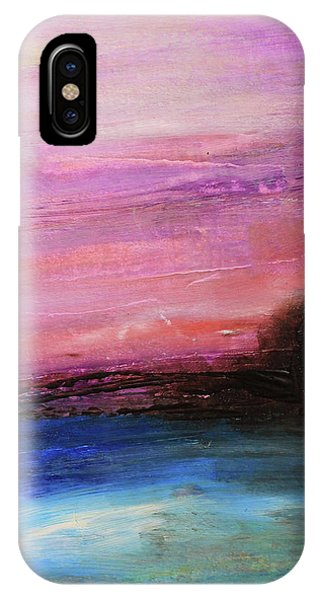 Blue Water Abstract IPhone Case