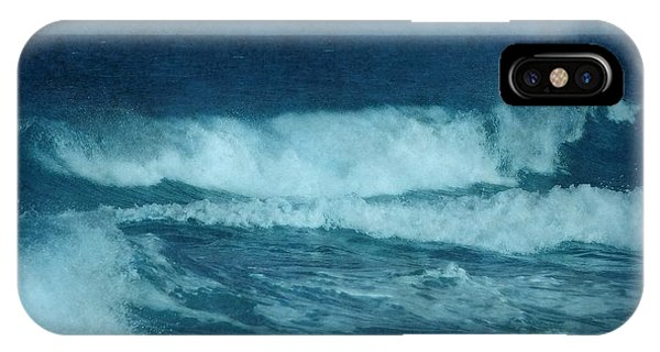 Blue Waves - Jersey Shore IPhone Case