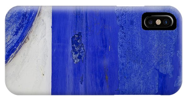 Blue Weathered Wall Of Old World Europe IPhone Case