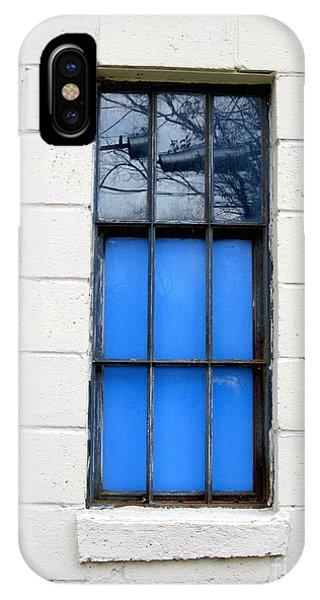 Blue Window Panes IPhone Case