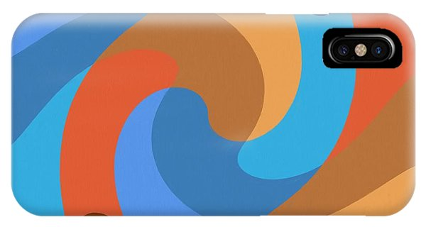 Blue Within Blue IPhone Case