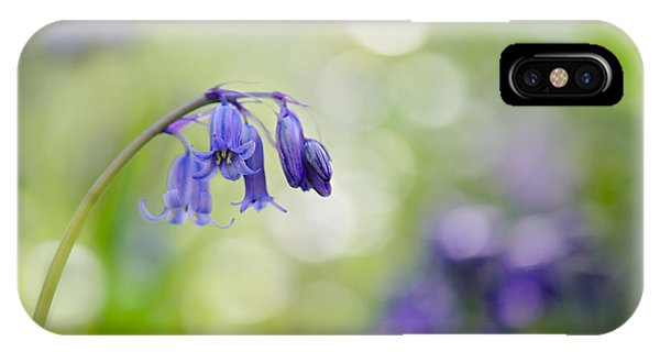 Bluebell Beauty IPhone Case