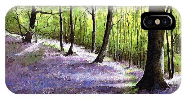 iPhone Case - Bluebell Wood by Paul Dene Marlor